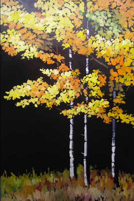 """Fall is Here"" 24 x 36 Oil on canvas $3,672"